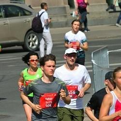 Tet Riga Marathon - Aija Rogale (826), Normunds Laipnieks (2456)