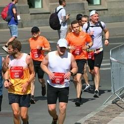 Tet Riga Marathon - Valentyn Shevchuk (256), Alexandre Huffenus (877), Artūrs Barbars (2139), Dāvis Barbars (2140)
