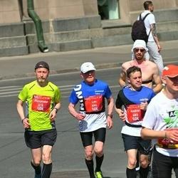 Tet Riga Marathon - Alexander Burdyga (418), Andrei Issakov (683), Lev Lubenskiy (894)