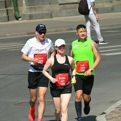 Tet Riga Marathon - Emilia Pätsi (527), Ivan Sirotkin (1398), Yuriy Kislov (1405)