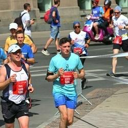 Tet Riga Marathon - Dan Sjövall (1620), Giedrius Masalskis (1639), Romans Biņkovskis (1777)