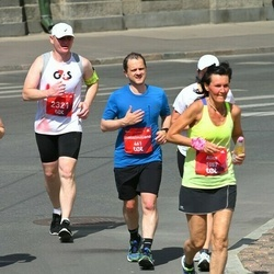 Tet Riga Marathon - Massimiliano Pisani (461), Alice Ruttkai (1057), Māris Grundulis (2321)