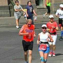 Tet Riga Marathon - Paavo Pajunen (447), Alena Politaeva (1397), Anna Vierinen (1400)