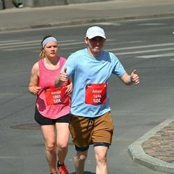 Tet Riga Marathon - Annija Brante (1003), Anuar Zhumabayev (1696)