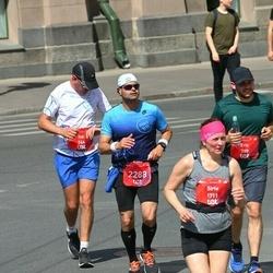 Tet Riga Marathon - Itai Zapler (744), Eric Kachko (789), Ofir Eliaz (2288)