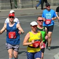 Tet Riga Marathon - Solovei Tamara (718), Wolfram Braun (1012), Marion Haas (1022), Artur Melkumjan (1323), Christoph Fuhrmann (2502)