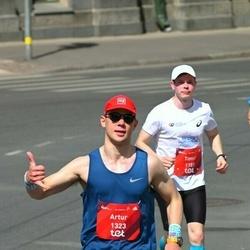 Tet Riga Marathon - Timur Semenov (1181), Artur Melkumjan (1323)