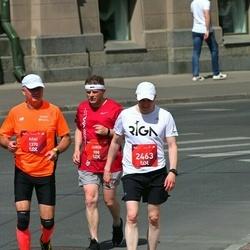 Tet Riga Marathon - Juris Baķis (908), Ailar Limmer (1370), Georgy Semenov (2463)