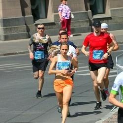 Tet Riga Marathon - Oskars Bormanis (9603), Gintare Zenkeviciute (15899)