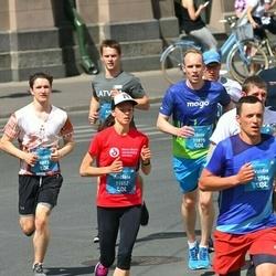 Tet Riga Marathon - Ritvars Bērziņš (9893), Andžela Staškeviča (11552), Jānis Lesiņš (11875)