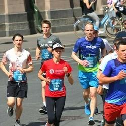 Tet Riga Marathon - Ritvars Bērziņš (9893), Artis Raitums (11078), Andžela Staškeviča (11552), Jānis Lesiņš (11875)