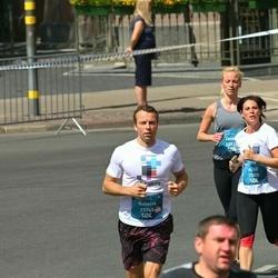 Tet Riga Marathon - Alise Ansone (11305), Roberts Guļāns (11745), Zanda Micule (12925)