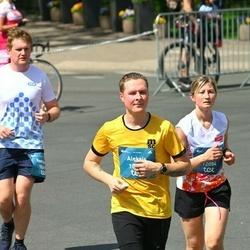 Tet Riga Marathon - Aleksis Mavrins (10825), Ņina Briede (12084)