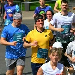 Tet Riga Marathon - Vitālijs Romanovskis (9764), Aleksejs Varfolomejevs (10824), Elviss Jokšs (13095)