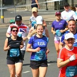 Tet Riga Marathon - Agnese Pauniņa (11911), Evija Strautniece (12931)