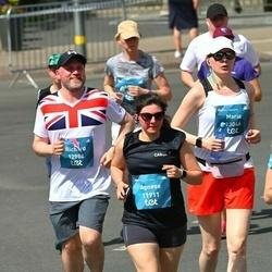 Tet Riga Marathon - Agnese Pauniņa (11911), Richard Stillwell (12988), Maria Lagutina (13046)