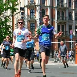 Tet Riga Marathon - Aigars Puriņš (14362), Mikus Bērziņš (16273)