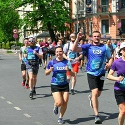 Tet Riga Marathon - Agnese Kokoreviča (13054), Kristaps Vidžis (13055)