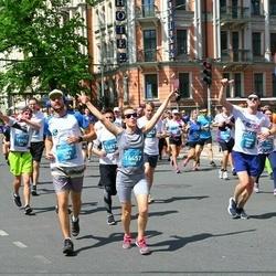 Tet Riga Marathon - Maksims Ņemčenko (12953), Aiga Liepa (14457)