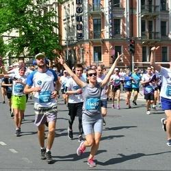 Tet Riga Marathon - Kārlis Ivans (12905), Maksims Ņemčenko (12953), Aiga Liepa (14457)