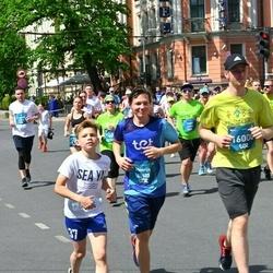 Tet Riga Marathon - Linda Jaunarāja-Janvāre (12833), Ēriks Narkevics (16000)