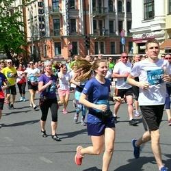 Tet Riga Marathon - Alīna Sadovska (13765), Ivars Getiņš (14087)