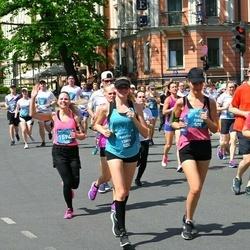 Tet Riga Marathon - Anita Stūre (13808), Katrīna Lagzdiņa (13809)