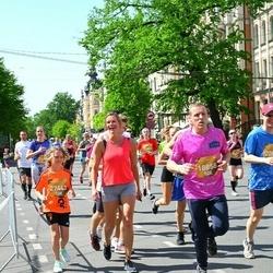 Tet Riga Marathon - Rihards Arsoba (18858), Amanda Muceniece (20858)