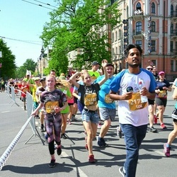 Tet Riga Marathon - Purushotam Reddy Polu (21729), Amanda Zakse (24180)