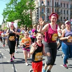 Tet Riga Marathon - Ernests Salnājs (18156), Inese Ābele (23650)