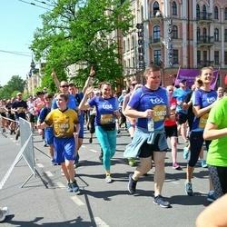 Tet Riga Marathon - Jeļena Uspenska (19582), Emīls Lācis (21608)