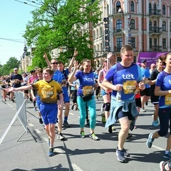 Tet Riga Marathon - Jeļena Uspenska (19582), Viktors Garkuls-Gurevicš (20825), Emīls Lācis (21608)