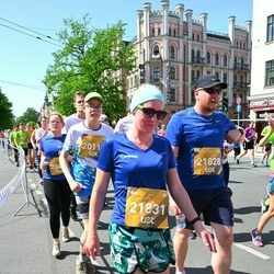 Tet Riga Marathon - Emīls Skadiņš (20110), Matīss Preiss (21828), Sabīne Depere (21831)