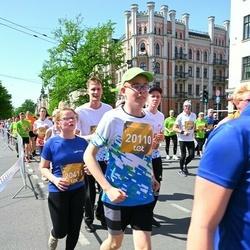 Tet Riga Marathon - Emīls Skadiņš (20110), Marija Jansone (20411)