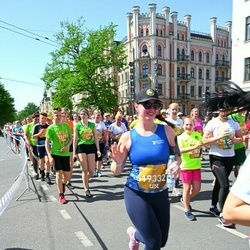 Tet Riga Marathon - Viktorija Ņikitina (19332), Alise Kuģe (22196), Aleksis Kuģis (22197), Gunita Grīsle (23414)
