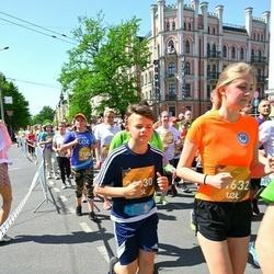 Tet Riga Marathon - Oksana Drunka (21334), Alise Kazeka (21632)