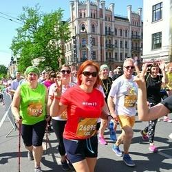 Tet Riga Marathon - Inese Prosko (18792), Arvis Freibergs (22249), Evita Lapsiņa-Kilemnika (26895)