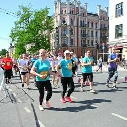 Tet Riga Marathon - Alla Jakovčika-Maleja (19364), Evita Zeltiņa-Latiša (19376), Inese Dauginoviča (19381), Laura Volfa (19948)