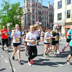 Tet Riga Marathon - Lelde Šternberga (19553), Venija Jasinska (19606), Laura Volfa (19948), Jānis Derums (20452), Alīna Žezlova (21948)