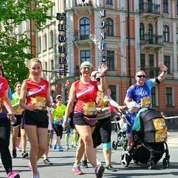 Tet Riga Marathon - Edīte Liepiņa (20860), Ilze Dambite-Purina (20862), Emīlija Putniņa (21447), Juris Putniņš (21448), Patrīcija Putniņa (21449)