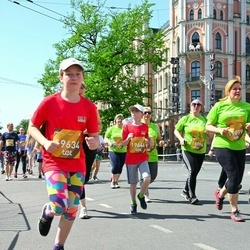 Tet Riga Marathon - Enija Andersone (19634), Lelde Andersone (19646)