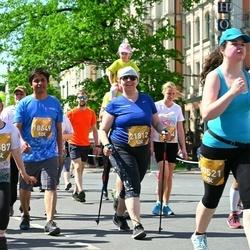 Tet Riga Marathon - Padmaraj Nidagundi (18649), Aija Medinika (21812)