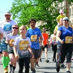 Tet Riga Marathon - Padmaraj Nidagundi (18649), Ērika Kņaze (20587), Aija Medinika (21812)
