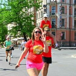 Tet Riga Marathon - Agnese Sprince (19561), Kristaps Sprincis (19565)