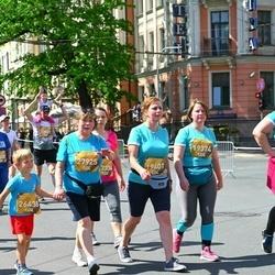 Tet Riga Marathon - Egita Križjus (19374), Sintija Želve-Bergmane (19401), Gabriels Āriņš (26438), Ausma Kļaviņa (27925)