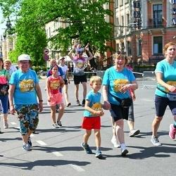 Tet Riga Marathon - Maija Žube (25674), Gabriels Āriņš (26438), Trīne Vankina (27563), Ausma Kļaviņa (27925)