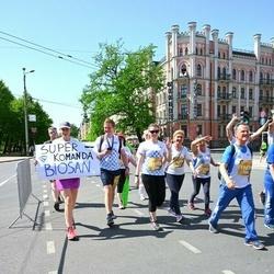Tet Riga Marathon - Giancarlo Borgonovo (19678), Loredana Paparelli (19679), Anastasija Alkšere (20155), Luciana Pannuzi (20529)