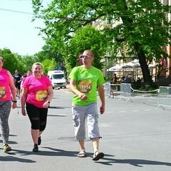 Tet Riga Marathon - Gatis Lukstiņš (19114), Aļona Horošilova (20088)