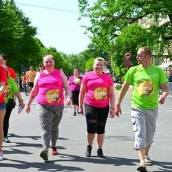 Tet Riga Marathon - Gatis Lukstiņš (19114), Aļona Horošilova (20088), Gabriella Sandlere (20090)
