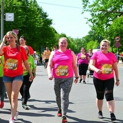 Tet Riga Marathon - Aļona Horošilova (20088), Gabriella Sandlere (20090), Inese Kadiša (20281)